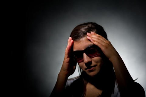 Migraine from light sensitivity