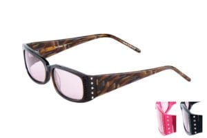 Womens Art Deco Curve Greek Style Frames - Axon Optics