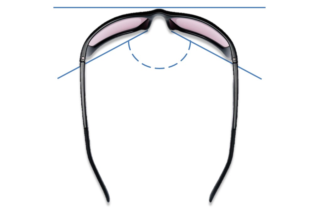 Wrap Migraine Glasses Frame