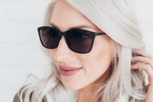Jura Migraine Glasses Outdoor - Female Lifestyle