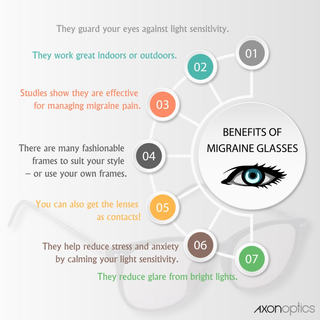 7 benefits of migraine glasses