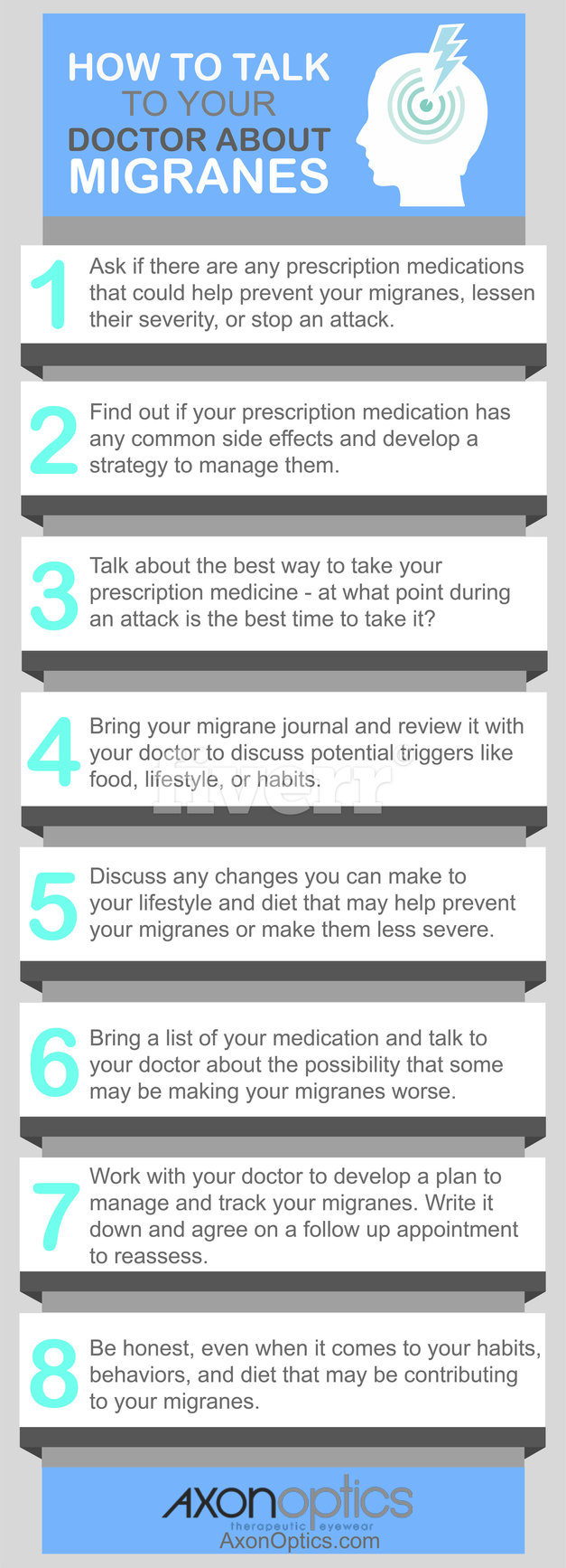 How to talk to your doctor about migraines and migraine medication