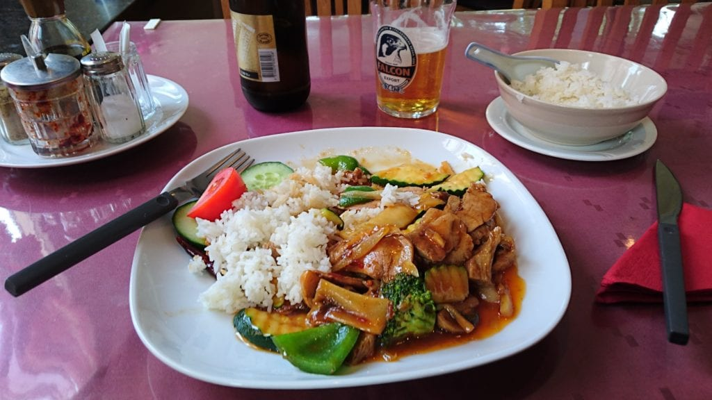 Most Chinese food contains MSG which s one of the foods that trigger migraine