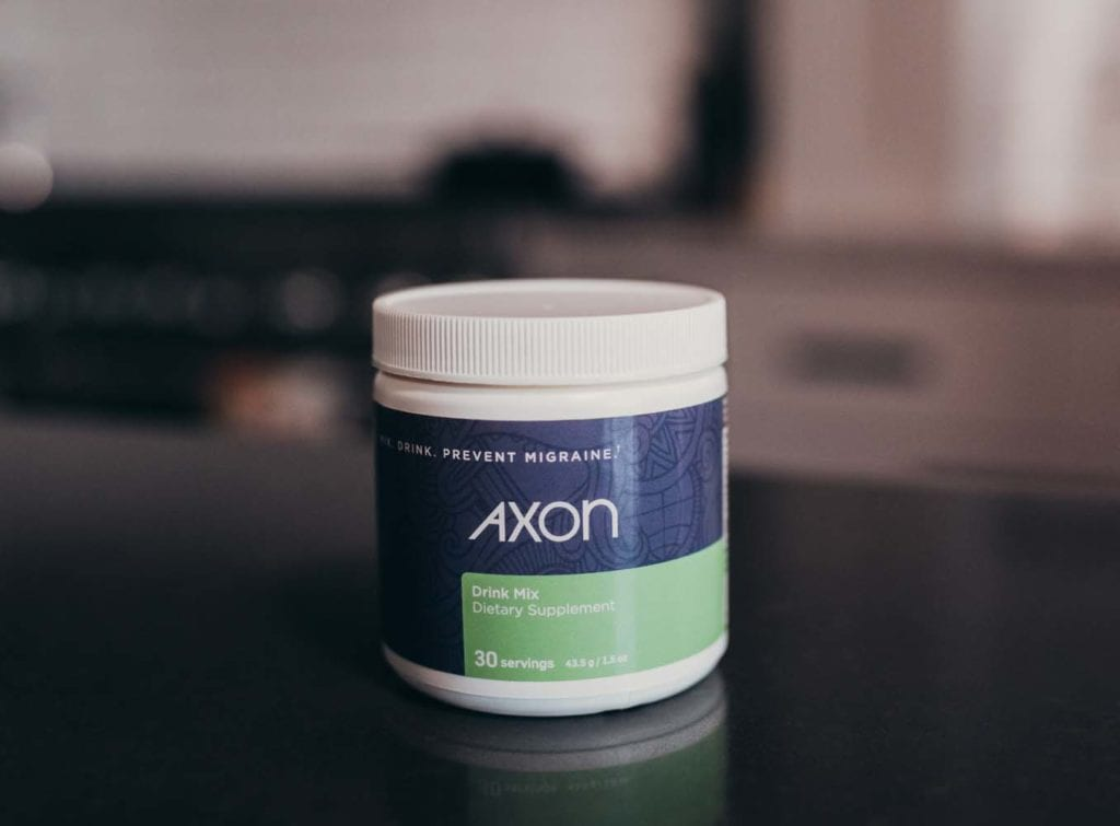 Axon Migraine Supplement Drink Mix In a Bottle