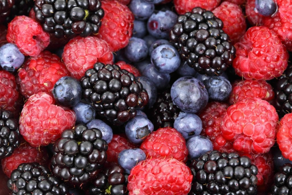 Berries are a great source of antioxidants and may be a good addition to your migraine diet